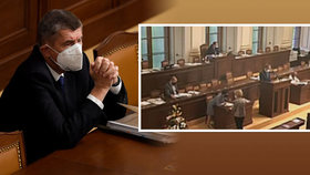 """Vláda Andreje Babiše žádala o prodloužení nouzového stavu, premiér a většina ministrů """"zmizeli"""" (30.10.2020)"""