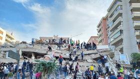 Turecko zasáhlo silné zemětřesení, (30.10.2020).