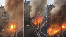 V ruském Čeljabinsku vybuchla nemocnice, byli v ní pacienti s koronavirem!