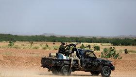 Vojáci v Nigérii
