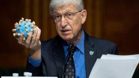 Přední americký epidemiolog a člen krizového štábu Bílého domu Anthony Fauci