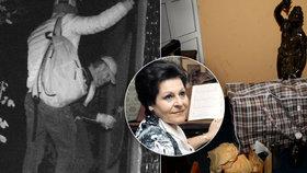 Detaily krádeže v domě Naděždy Kniplové: Připravené tašky s kradenými věcmi!