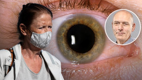 Pečujte v době pandemie o své oči, vzkazuje odborník