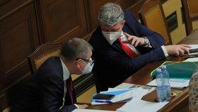 Jednání Poslanecké sněmovny o státním rozpočtu (11. 11. 2020)
