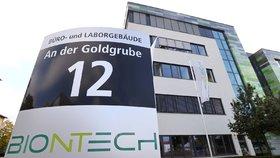 Sídlo společnosti BioNTech v německé Mohuči