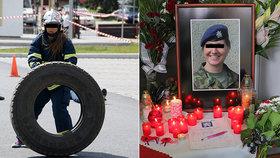 Michaela Tichá zahynula na zahraniční misi po pádu vrtulníku.
