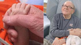 David Deutchman (†86), který 14 let choval miminka v nemocnici, zemřel na rakovinu.