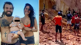 Hugo Pereira zemřel se svou partnerkou Stellou Souzou a jejich sedmiměsíčním synem Solem.