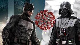 Batman vs. Darth Vader vs. korona