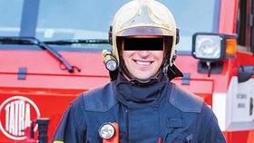 Mladý hasič Dalibor B. zemřel po nehodě na motorce.