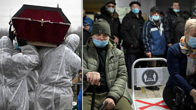 Koronavirus v Rusku.