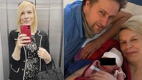 Exposlankyně Kristýna Mertlová (dříve Kočí) porodila čtvrtého syna, dostal jméno Alex.