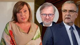 Kalousek: Nechci si půjčovat od vnuků. Na důchody nebude, Schillerová je ministryní omylem.