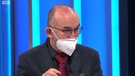 Ministr zdravotnictví Jan Blatný (za ANO) v Partii na Primě (22. 11. 2020)