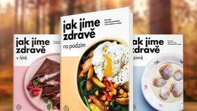 Kuchařka Jak jíme zdravě na podzim přináší netypické kombinace a zahřeje...