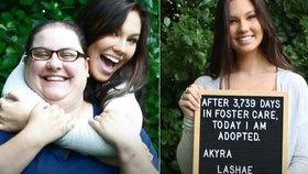 Dívka se tloukla deset let po pěstounských rodinách: Teprve pak našla někoho, kdo ji adoptoval.
