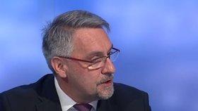 Ministr obrany Lubomír Metnar (za ANO) v Událostech, komentářích