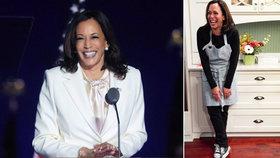 Budoucí viceprezidentka USA Kamala Harrisová.