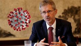 Předseda Senátu Miloš Vystrčil (ODS) je po kontaktu s nakaženou osobu v karanténě.