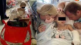 Chlapec (3) se zranil při pádu z kola: Lékaři mu kvůli šířící se infekci museli amputovat nohy a část ruky!