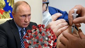 Prezident Putin se zatím proti koronaviru oočkovat nenechal, jeho dcera už to má za sebou