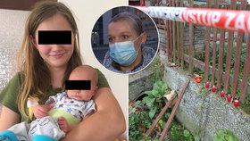 Záchranářka popsala šokující scény po masakru v Líském: Z domu hrůzy vynesla miminko, které jediné přežilo.