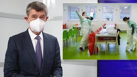 Premiér Andrej Babiš v pořadu Blesk Zpráv Epicentrum hovořil i o aktuální koronavirové situaci (26. 11. 2020)