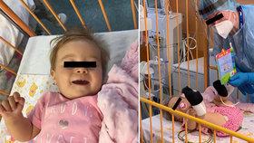 Lucinka dostala lék Zolgensma jako první dívka přímo v České republice.