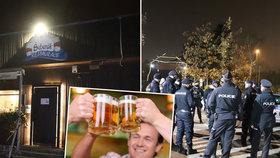 V pražských Kunraticích ve čtvrtek 26. 11. 2020 otevřel majitel svoji restauraci Šeberák. Přijeli policisté a podnik zavřeli. Porušil totiž vládní nařízení proti koronaviru.