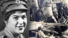 Hana Pavlů byla na palubě potápějící se lodi. Zachránila si život. (vpravo ilustrační foto)