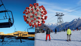 Alpské státy se přou o otevření lyžařských středisek.