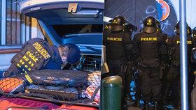 Nelegální party v Praze ukončila policie. V tajně otevřeném klubu v samém centru hlavního města bylo přes sto lidí.