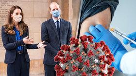 Princ William a vévodkyně Catherine ustavičně pomáhají zdravotníkům.