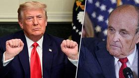 """Giuliani údajně s Trumpem probíral """"preventivní milost"""""""