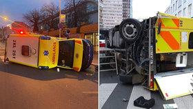 V Mladí Boleslavi došlo k ošklivé nehodě.
