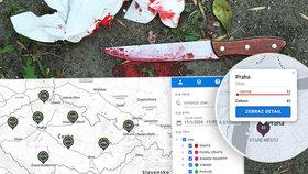 Kde se u vás ve čtvrti vraždilo? Teď se můžete na online mapě kriminality podívat.