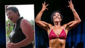 Ženu (52) po dvou letech odkopl přítel: Z pomsty zhubla a vyhrála kulturistickou soutěž!
