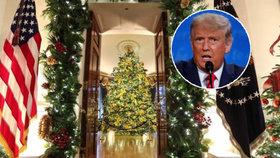 Bílý dům navzdory koronaviru chystá více než 20 vánočních večírků.