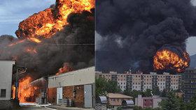 Požár Severochemy