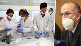 Blatný oznámil konec vývoje české vakcíny. Projekt stál přes 4 miliony korun.