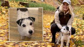 Kateřina Klasnová a pes Armíček
