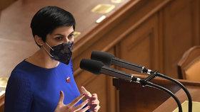 Jednání Sněmovny o nouzovém stavu: Markéta Pekarová Adamová (TOP 09) (9.12.2020)