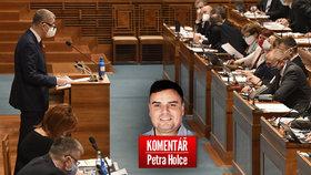 Petr Holec komentuje jednání o zrušení superhrubé mzdy.