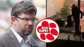Mladík na videu brutálně týral psa: Zvíře je na tom hodně špatně, popsal Pospíšil.