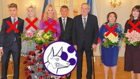 Premiér Andrej Babiš (ANO) a prezident Miloš Zeman budou mít v roce 2021 novoroční oběd nakonec bez rodin