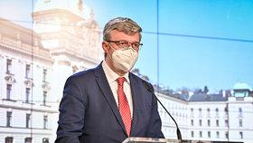 První jednání vlády v roce 2021: Karel Havlíček (za ANO) na tiskovce (4.1.2021)