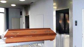 Krematorium v Ostravě hlásí extrémně zvýšený počet zemřelých.
