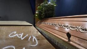 Krematorium v Ostravě (6. 1. 2021)