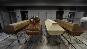 Krematorium v Ostravě (6.1.2021)