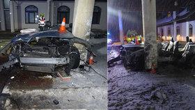 Tragická nehoda u Zlatých Hor